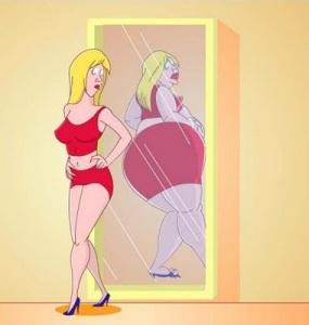 fat mirror